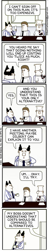 dilbert-explains-cost-consquences-of-not-acting